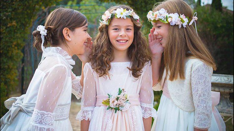 Tocados y coronas para niñas 005