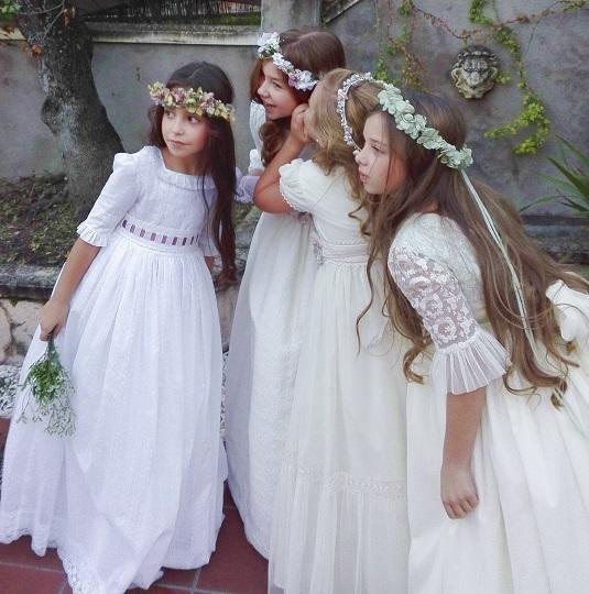 coronas comunión niñas babú w