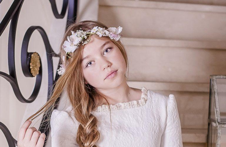 Corona de niñas irregular